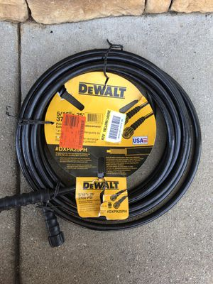DeWALT 5/16 in. x 25 ft. 3700 psi Replacement/Extension Hose for Sale in Duncan, SC