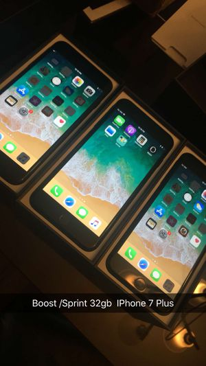 iPhone 7 Plus 32gb Sprint Boost for Sale in Chicago, IL