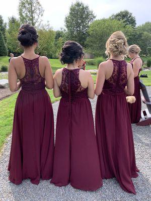 Beautiful Bordeaux bridesmaid dress - size 6 for Sale in Fairfax, VA