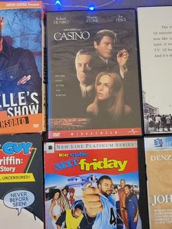 Dvds Casino, Chappelle's Show, Family Guy for Sale in Fort Bliss,  TX