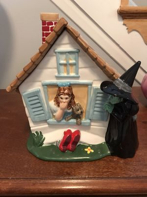 Wizard of Oz House cookie Jar Warner Brothers for Sale in West Springfield, VA