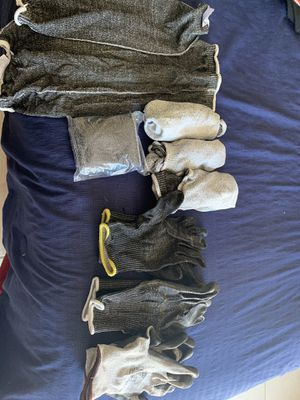 sleeves and safety gloves, for welder, general. for Sale in San Diego, CA