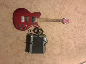 Guitar and amp for Sale in Valrico, FL