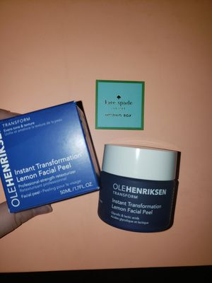 Ole henriksen lemon facial peel for Sale in Amelia Court House, VA