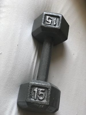 15 lb dumbbell for Sale in Clackamas, OR