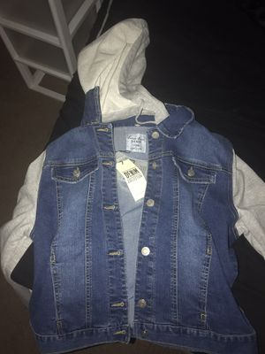 Denim/Sweater Jacket **PICKUPONLY/CYPRESS AREA** for Sale in Cypress, TX