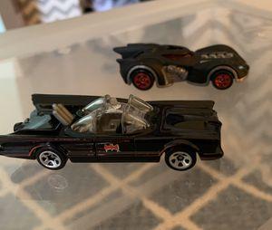 2 Batman Hotwheel Cars for Sale in Pataskala, OH