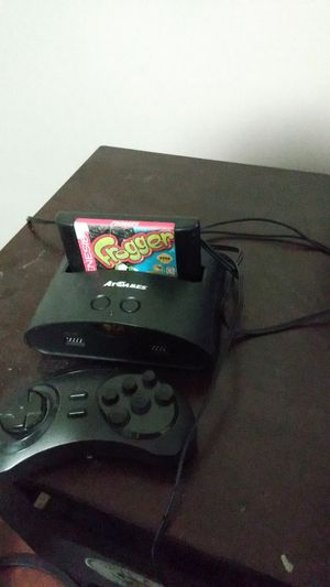 Sega Genesis with frogger game and one controller for Sale in Wichita, KS