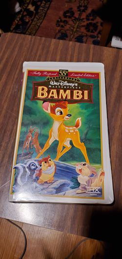 Bambi VHS for Sale in San Antonio,  TX