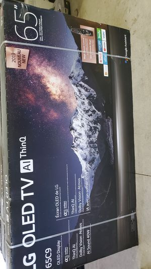 Lg OLED 65C9 2019 model Dolby vision,atmos 4k tv for Sale in Rancho Cucamonga, CA