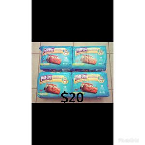 Huggies pull ups size 4t-5t. Diapers Pampers for Sale in Whittier, CA
