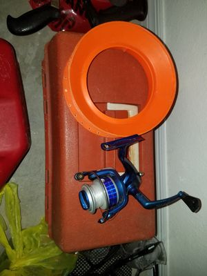 yoyo empty fishing box and a reel. $20 firm for Sale in Homestead, FL