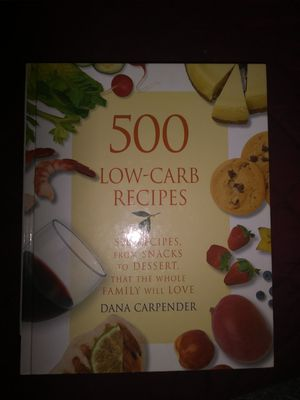 Low Carb Recipes Book for Sale in New Bedford, MA