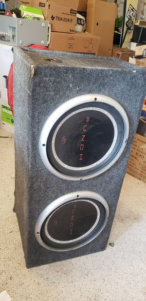 "Rockford Fosgate 10"" speakers with box for Sale in San Diego, CA"
