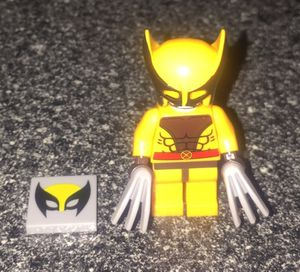 Wolverine brown and orange outfit lego mini figure X-men for Sale for sale  Queens, NY