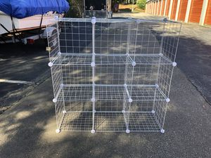 Metal Gridwire Storage Shelves for Sale in Cary, NC