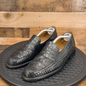 Mezlan Crocodile Skin Mens Shoes Size 12M for Sale in Omaha, NE