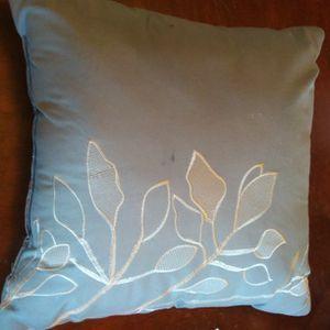 Pretty Blue Throw Pillow for Sale in Turlock, CA