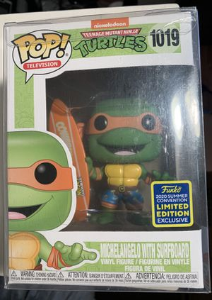 Funko pop Michelangelo surfboard for Sale in Hayward, CA