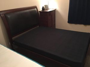Solid Mahogany Queen Bed Frame for Sale in San Diego, CA