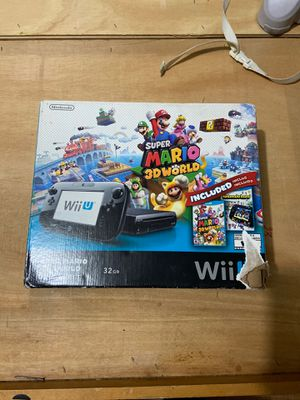 Wii U Deluxe set for Sale in Clifton, NJ