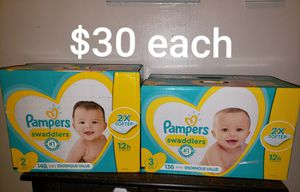 Pampers swaddlers for Sale in Perth Amboy, NJ