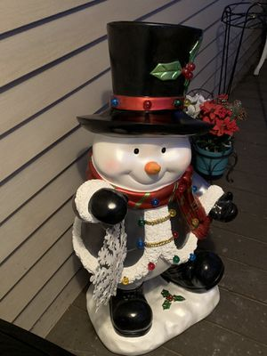 SNOWMAN for Sale in Meriden, CT