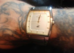 Silver watch mens for Sale in Amherst, VA