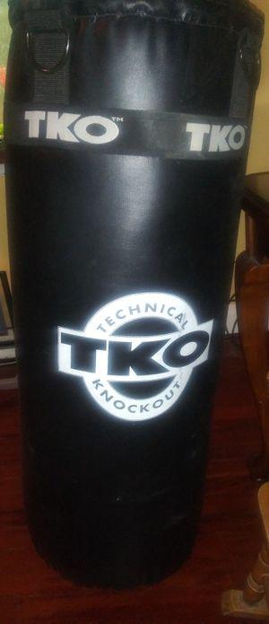 Punching Bag w\ gloves for Sale in Nashville, TN