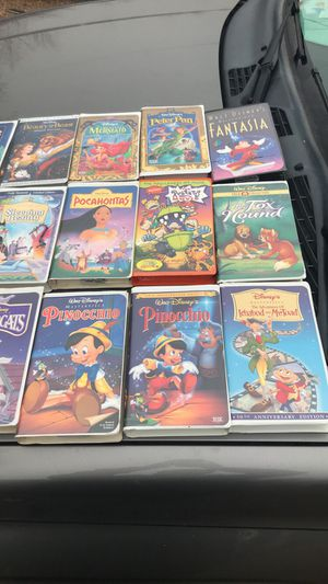 VHS classic Disney movies for Sale in Amarillo, TX