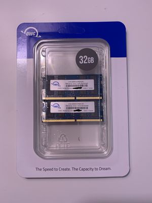 32Gb RAM by OWC (2666 DDR4) for Sale in Acton, MA