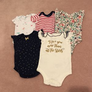 0-3 Month Baby Girl Clothes for Sale in Round Rock, TX