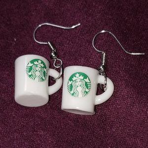 Starbucks Coffee Mug Dangle Earrings for Sale in Lakewood, CA