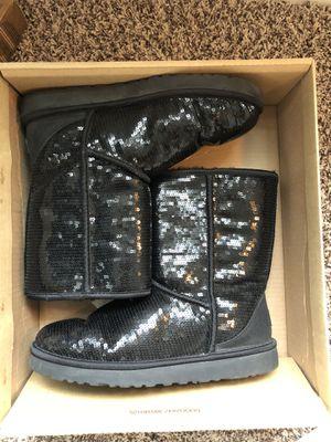 Black Sequin Uggs SZ 11 for Sale in Atlanta, GA