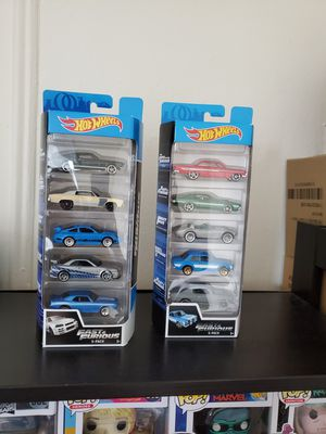 Hot Wheels Fast and the Furious 5-pack (2 sets) for Sale in New York, NY