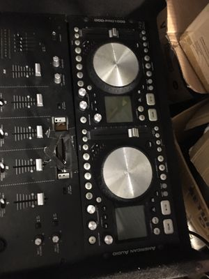 2 turn-table DJ Equipment Box for Sale in Houston, TX