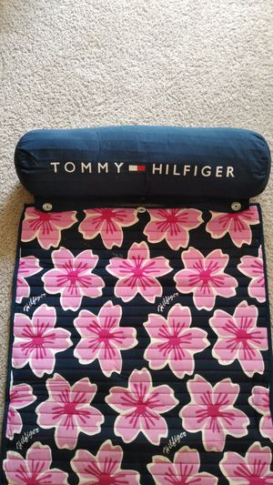 Brand New Beautiful Tommy Hilfiger Beach Blanket ( never used ) for Sale in Frederick, MD