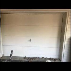 2 Garage door-9x7- wood for Sale in Mechanicsburg, PA