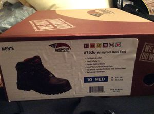 Brand New Avenger Work Boots A7536 Steel Safety Toe Men's Size 10 for Sale in Baden, PA