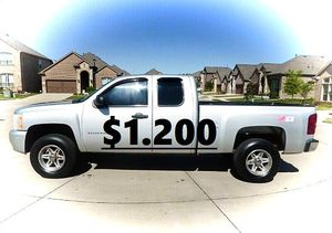 🍁Fully Maintained$1200 I'm Selling URGENT!2011 Silverado 🍁!4WDWheelss!🍁 for Sale in Dallas, TX