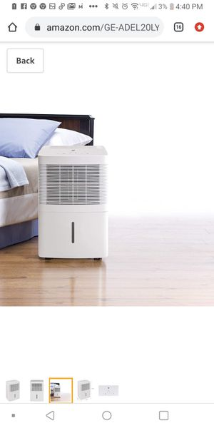 GE dehumidifier 20 pints for Sale in Ontario, OH