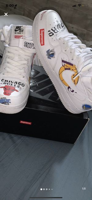 Air Force 1 supreme for Sale in Barnegat, NJ