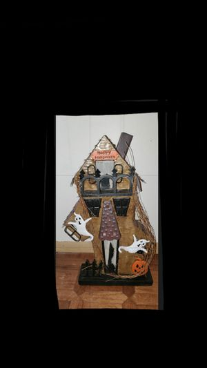 Discounted Haunted House (Metal) - Halloween for Sale in Franklin Lakes, NJ