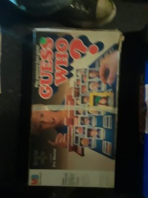 Guess who the board game for Sale in Columbus, OH