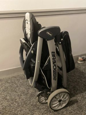Choicco Bravo for 2 Double Stroller -Iron for Sale in Queens, NY
