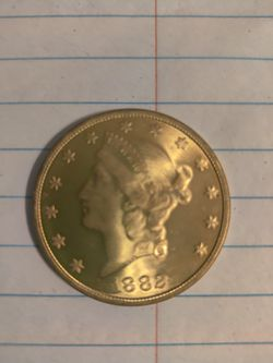 1892 liberty Head $20 Gold Coin for Sale in Des Moines,  IA