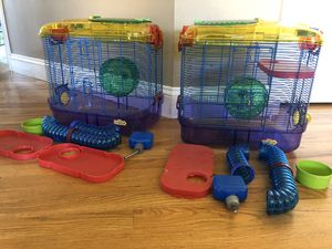 Kaytee Critter Trail cages and accessories for Sale in Wenatchee, WA