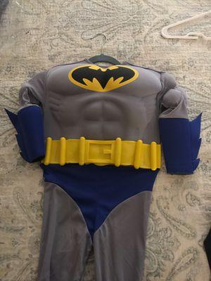 Boys Batman Muscle Costume Sz Small for Sale in Tamarac, FL