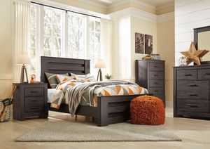 Ashley Furniture Black Queen Size Bed Frame for Sale in Garden Grove, CA
