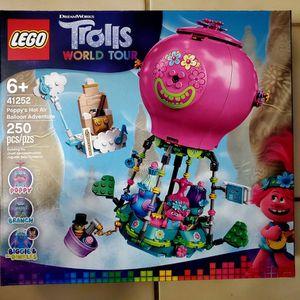 New LEGO Trolls World Tour Poppy's Hot Air Balloon Adventure 41252 Building Kit for Sale in St. Petersburg, FL